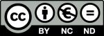 Creative Commons - Reconocimiento - No comercial - Compartir igual (by-nc-sa): No se permite un uso comercial de la obra original ni de las posibles obras derivadas, la distribución de las cuales se debe hacer con una licencia igual a la que regula la obra original.